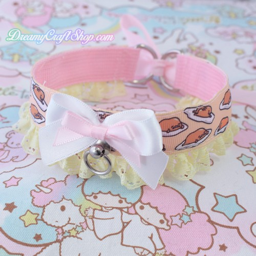 Gudetama Lace Trim Collar