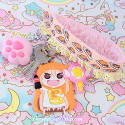 Build Your Own Kawaii Faux Fur Wrist Strap