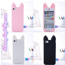 Silicone Kitten Ear Case