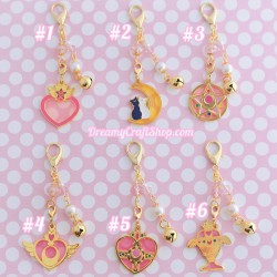Sailor Moon purse charm / keychain